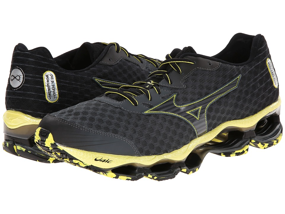 Mizuno - Wave Prophecy 4 (Turbulence/Black/Bolt) Men