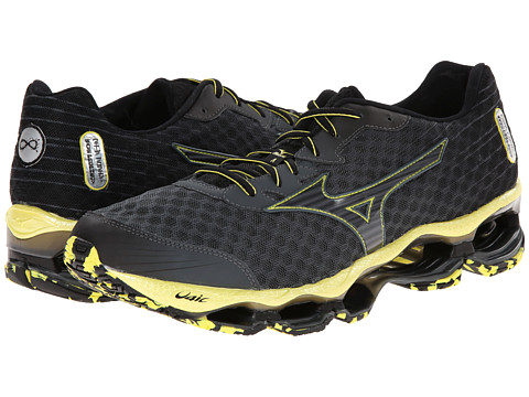 Mizuno - Wave Prophecy 4 (Turbulence/Black/Bolt) Men's Shoes