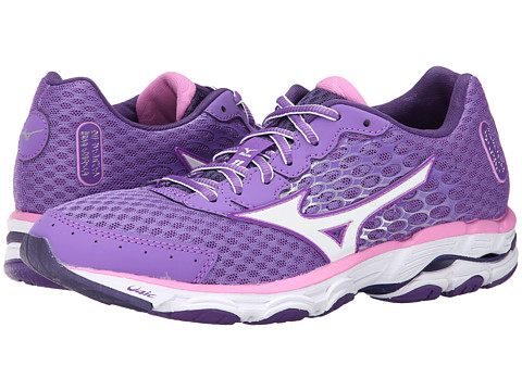 Mizuno - Wave Inspire 11 (Deep Lavender/White/Cyclamen) Women