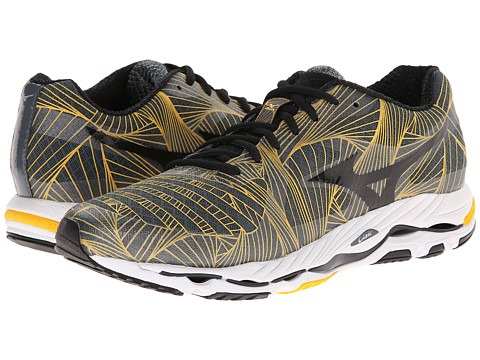 Mizuno - Wave Paradox (Turbulence/Black/Spectra Yellow) Men