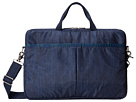 LeSportsac 15 Inch Laptop Bag (Downtown Denim)