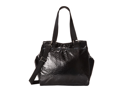 LeSportsac - Miranda Bag (Leatherette Snake) Satchel Handbags