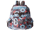 LeSportsac Voyager Backpack (Folk Flora)