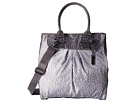 LeSportsac Sig Tote (Gray Combo Ostrich)
