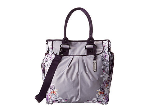 LeSportsac - Sig Tote (Light Gray Gardens) Tote Handbags