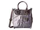 LeSportsac Sig Small Tote (Gray Combo Ostrich)