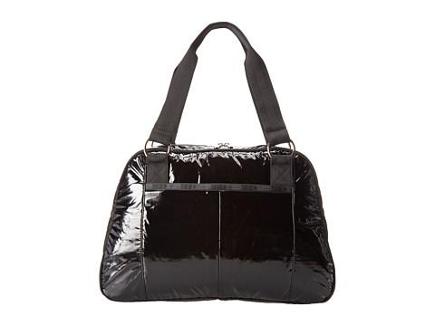 LeSportsac - Taylor Laptop Bag (Black Patent 09) Computer Bags