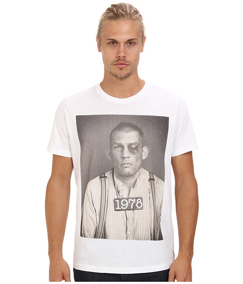 Diesel - T-Eckart T-Shirt (White) Men