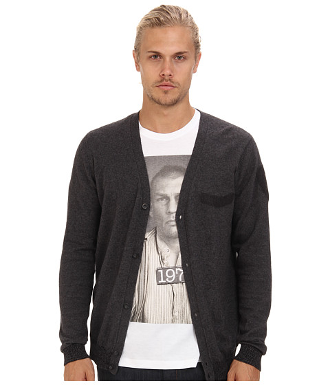 Diesel - K-Amini-A Sweater (Charcoal/Grey) Men