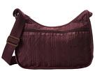 LeSportsac Classic Hobo Bag (Marsala Entwine)