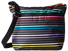 LeSportsac Small Cleo Crossbody (Lestripe Black)