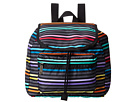 LeSportsac Small Edie Backpack (Lestripe Black)