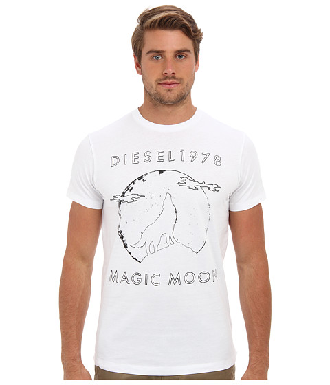 Diesel - T-Hita T-Shirt (White) Men's T Shirt