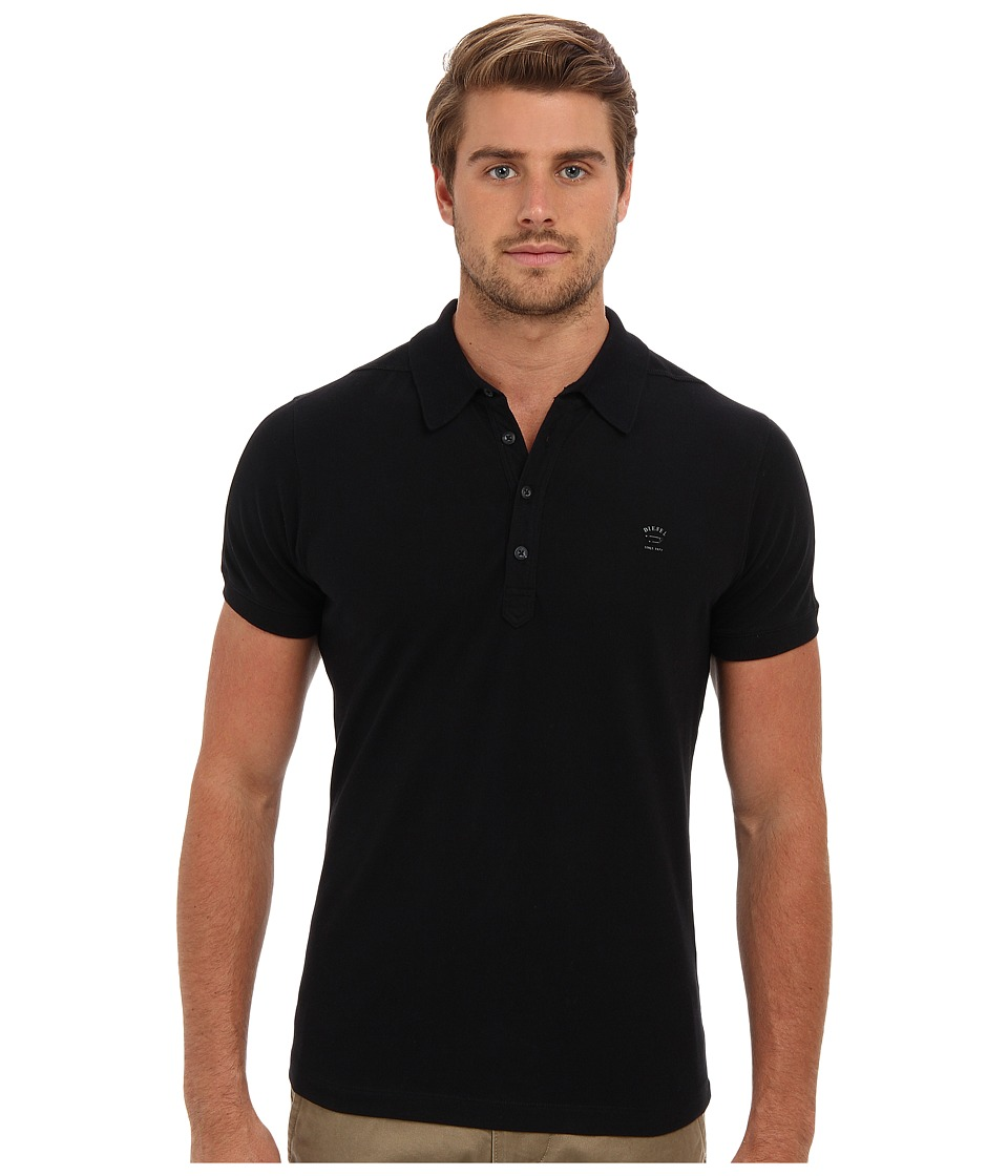 Diesel - T-Alfred Shirt (Black) Men's Short Sleeve Pullover