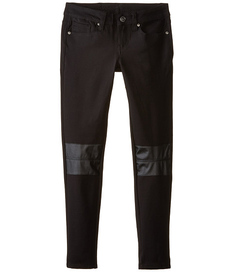 Request - 92551 Jegging with PU Knee Patch (Black) Women