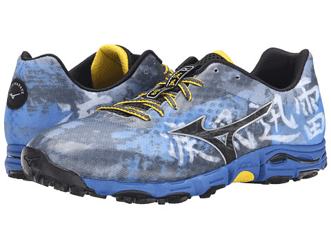 Mizuno - Wave Hayate (Turbulence/Black/Turkish Sea) Men