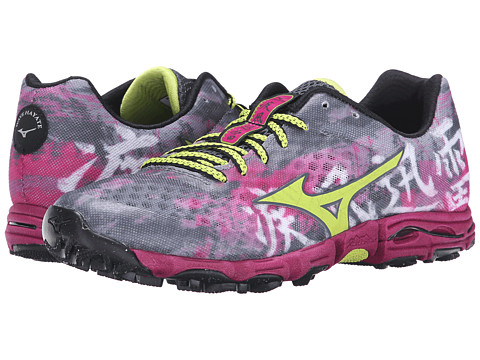 Mizuno - Wave Hayate (Turbulence/Green Glow/Baton Rouge) Women