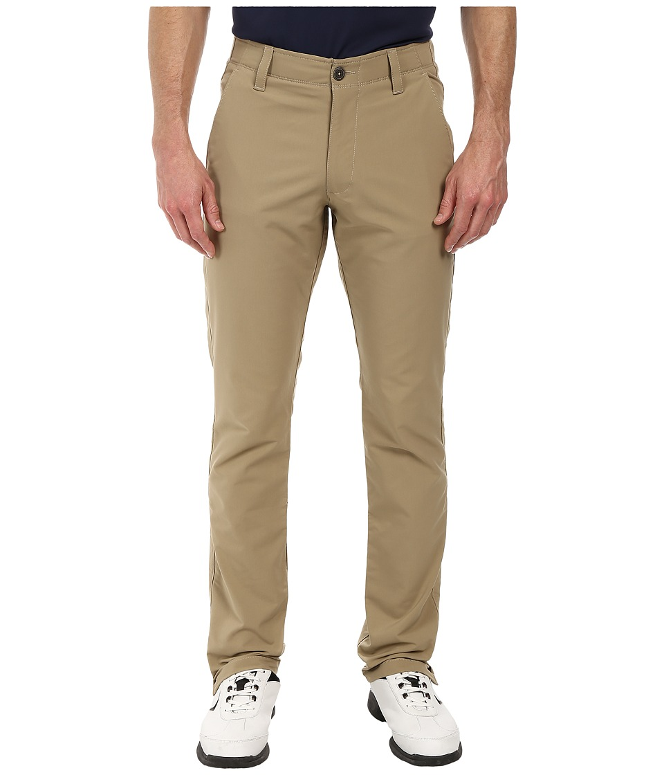 Under Armour Golf - UA Match Play Taper Pant (Canvas/True Gray Heather/Canvas) Men's Casual Pants
