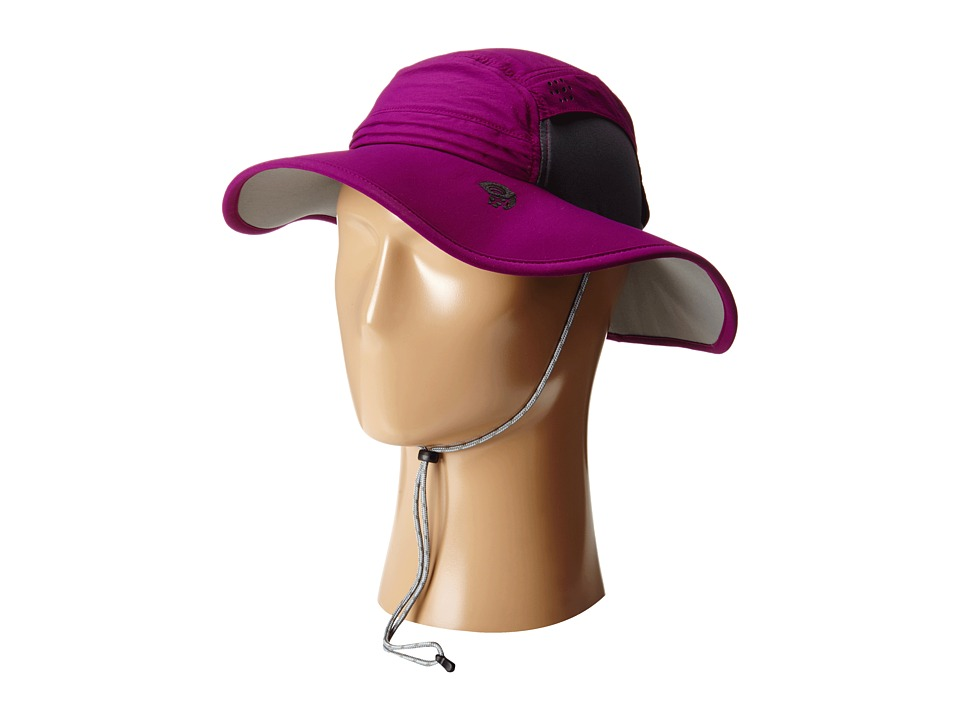 Mountain Hardwear - Chiller Wide Brim Hat (Dark Raspberry) Traditional Hats