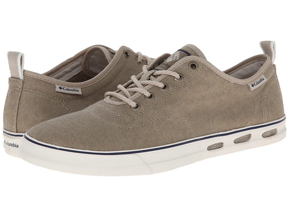 Columbia - Vulc N Vent Lace (Silver Sage/Light Cloud) Men's Shoes