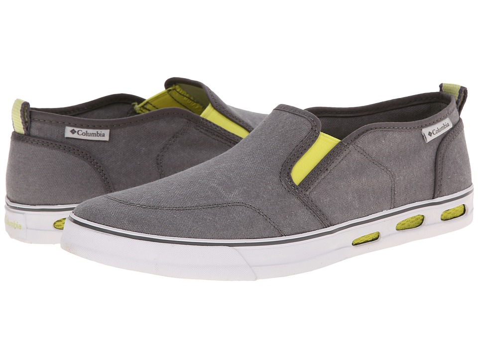 Columbia - Vulc N Vent Slip (Shale/Oyster) Men's Shoes