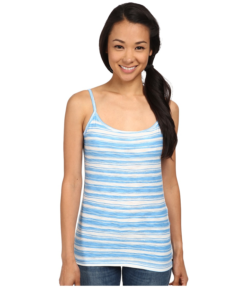 Patagonia - Necessity Cami (Overseas Stripe/Skipper Blue) Women's Sleeveless