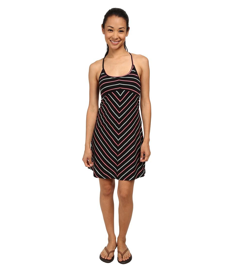 Patagonia Spright Dress (Chilton Stripe: Black) Women