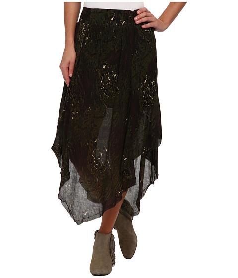 RVCA - Haida Skirt (Slate Blue) Women's Skirt