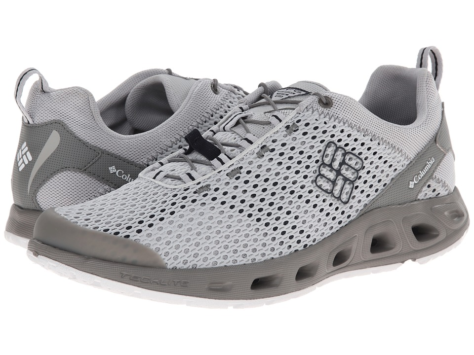 Columbia - Drainmakertm III PFG (Cool Grey/Collegiate Navy) Men's Shoes
