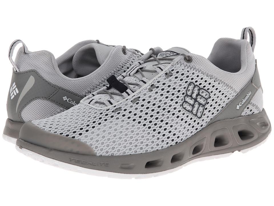 Columbia - Drainmakertm III PFG (Cool Grey/Collegiate Navy) Men's Shoes