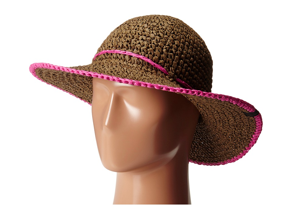 Mountain Hardwear - Raffia Crusher II (Cordovan/Bright Rose) Traditional Hats