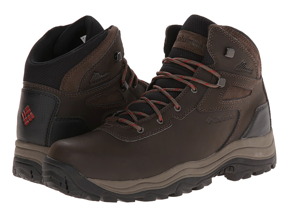 Columbia - Canyonville Waterproof (Cordovan/Red Dahlia) Men