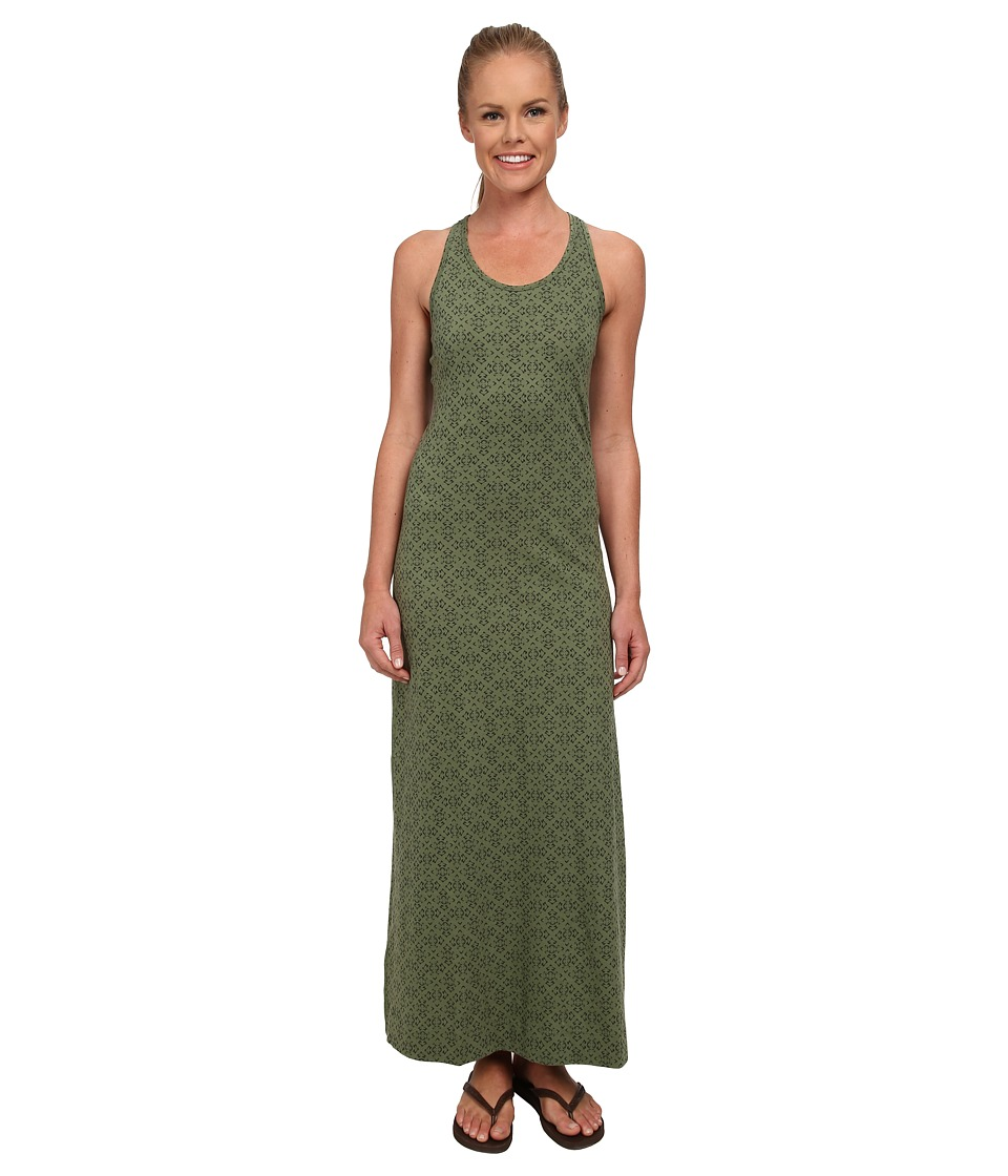 Patagonia - Kamala Maxi Dress (Desert Diamonds/Camp Green) Women's Dress