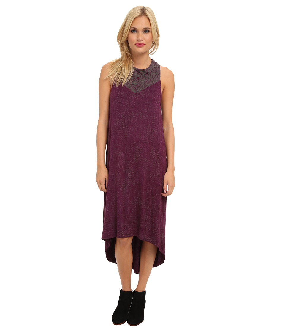 RVCA Lilliana Dress (Purple Haze) Women