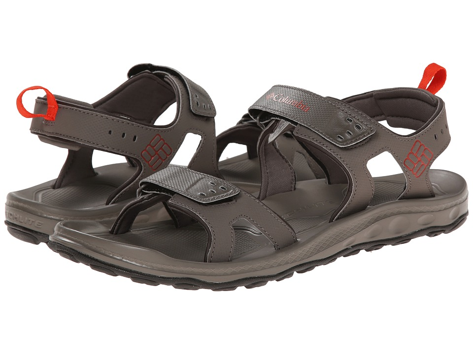 Columbia - Watershot (Mud/Cinnabar) Men's Sandals