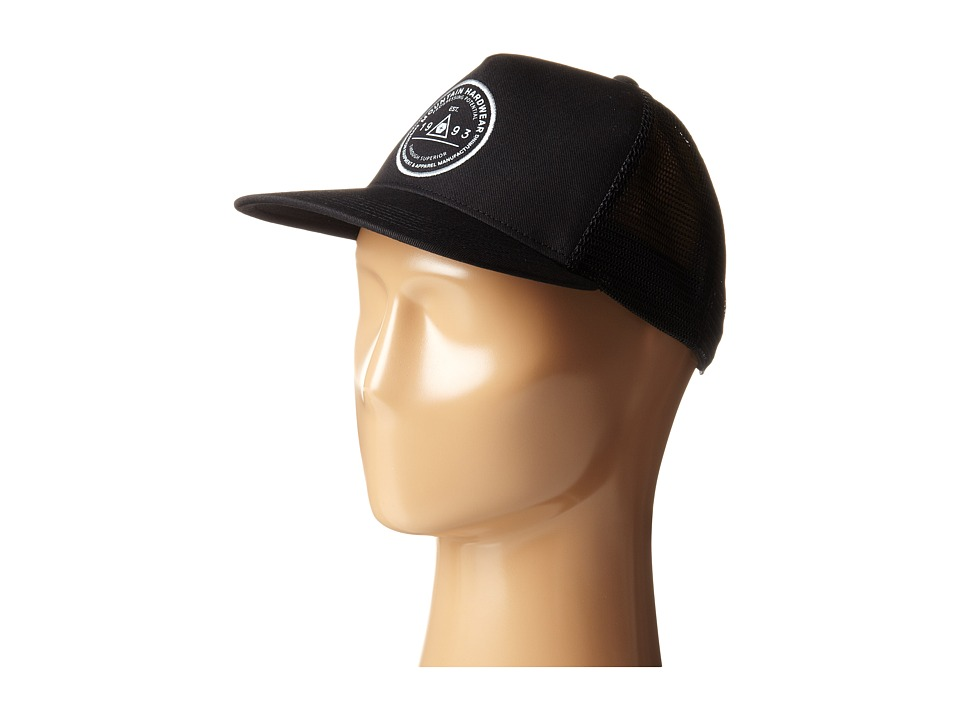 Mountain Hardwear - Elevation Marker Trucker Cap (Black) Caps