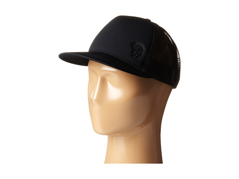 Mountain Hardwear - NutJob Emboss Foam Trucker Cap (Black) Caps