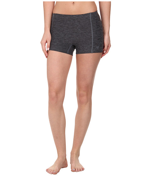 New Balance - 3 Space Dye Short (Black/Grey) Women's Shorts