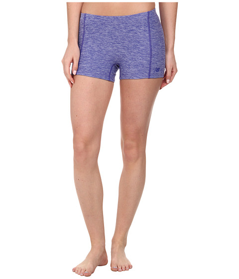 New Balance - 3 Space Dye Short (Spectrum Blue) Women's Shorts