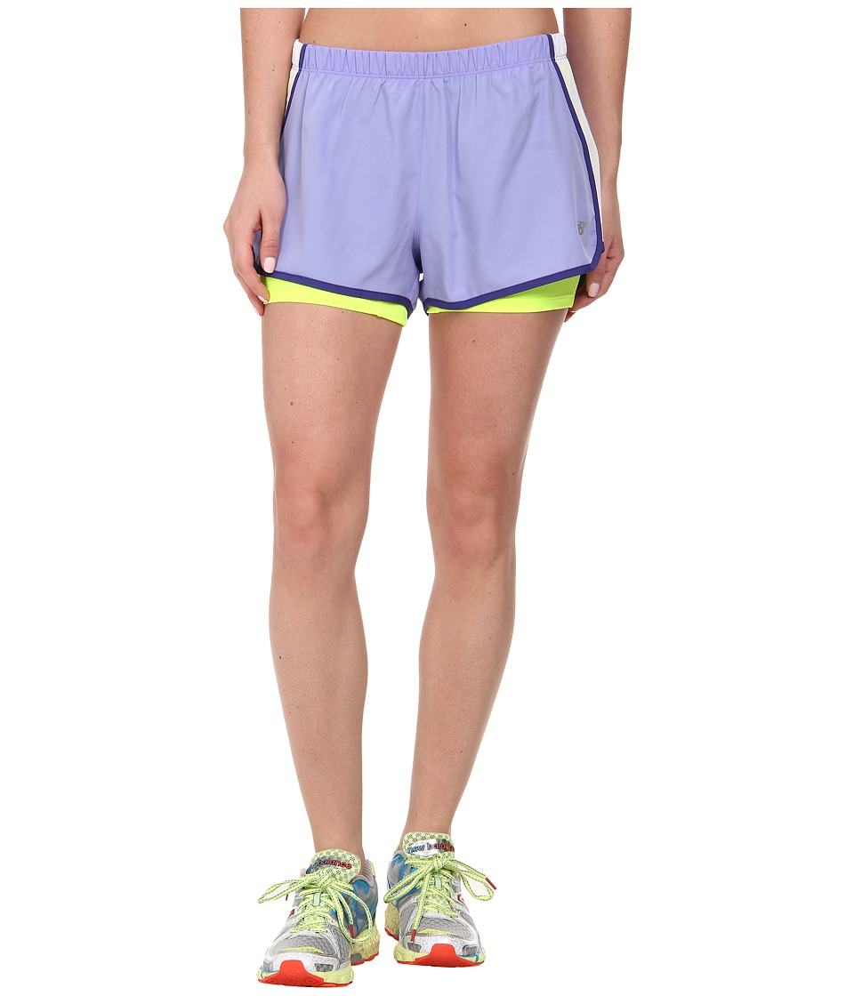 New Balance - Momentum 2-in-1 Short (Ice Violet) Women