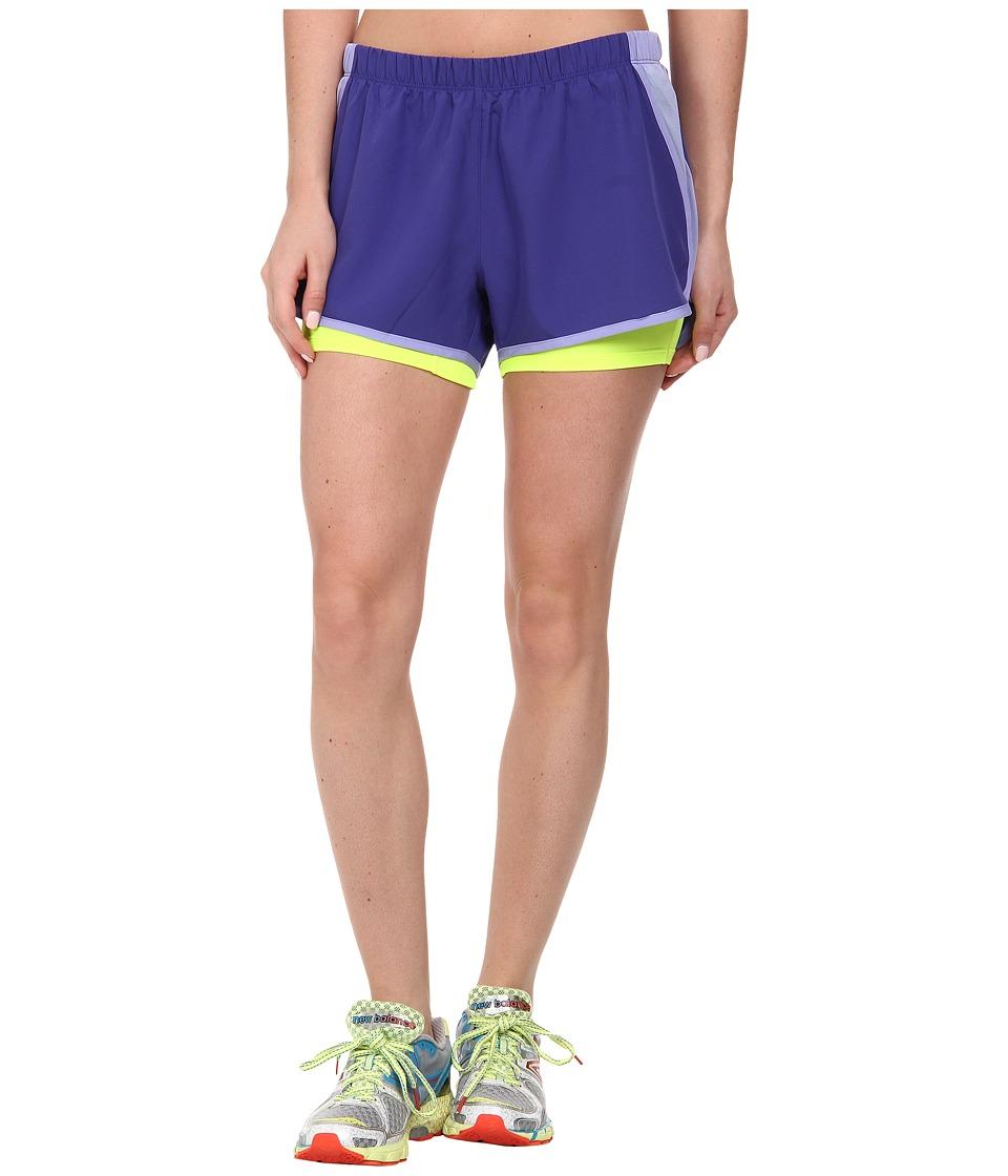 New Balance - Momentum 2-in-1 Short (Spectrum Blue) Women's Shorts