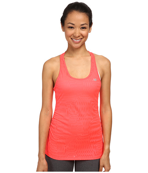 New Balance - Basic Volume Tank (Bright Cherry) Women's Sleeveless