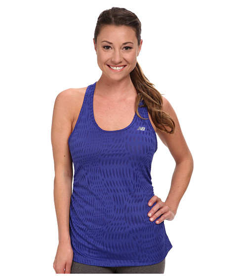 New Balance - Basic Volume Tank (Spectrum Blue) Women