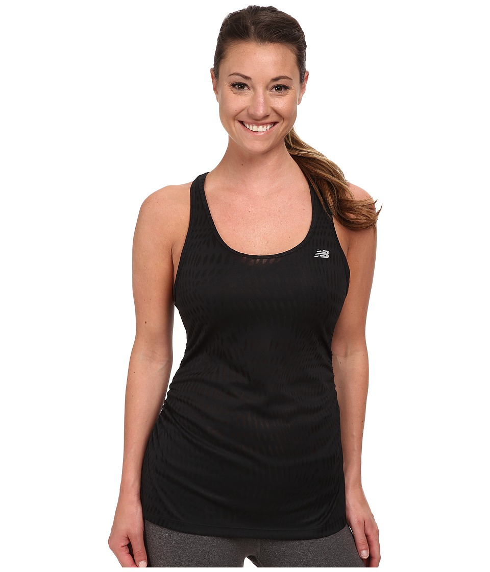 New Balance - Basic Volume Tank (Black 1) Women's Sleeveless