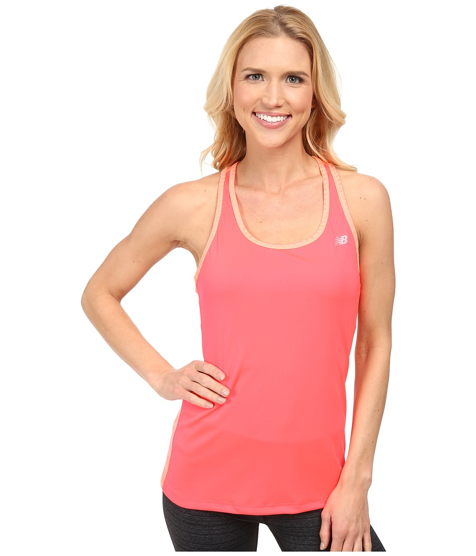 New Balance - Novelty Tank (Bright Cherry) Women's Sleeveless