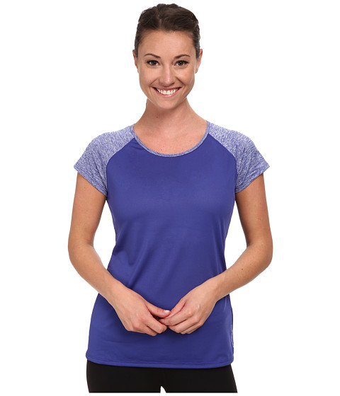 New Balance - Novelty Short Sleeve (Spectrum Blue) Women's Short Sleeve Pullover