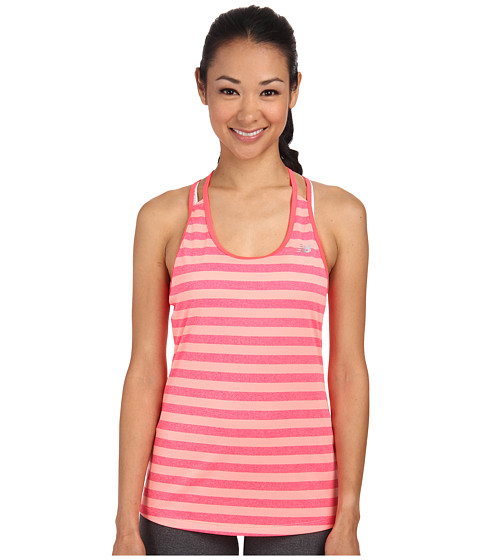 New Balance - Double Time Tank (Bright Cherry) Women's Sleeveless