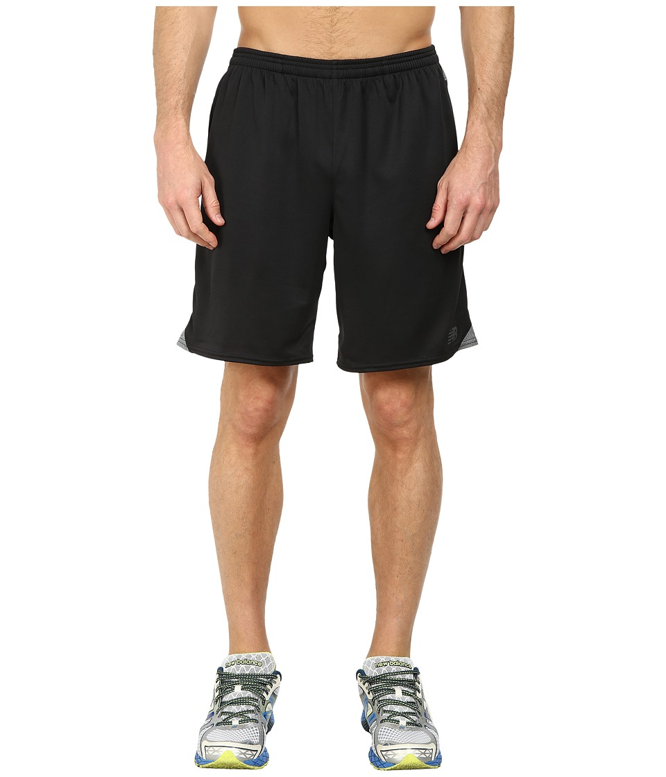 New Balance - Hybrid Short (Black) Men's Shorts