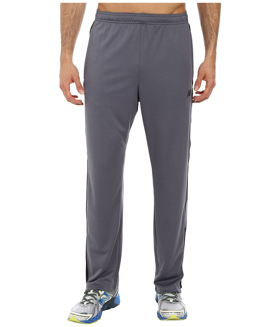 New Balance - Knit Training Pant (Lead) Men's Workout