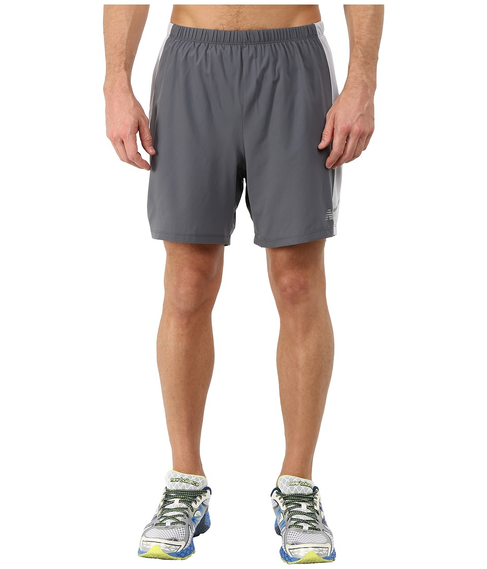 New Balance - Speed 2-in-1 Short (Lead) Men's Shorts